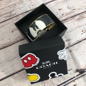 COACH DISNEY X MICKEY PONDEROUS ENAMEL BANGLE